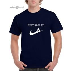 Koszulka męska JUST SAIL IT.