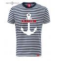 Koszulka unisex w marynarskie paski SAILOR