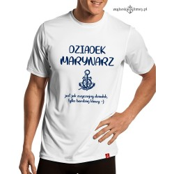 Koszulka męska DZIADEK MARYNARZ
