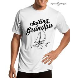 Koszulka męska Sailing Grandpa
