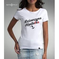 Koszulka premium Dziewczyna Kapita(l)n(a)