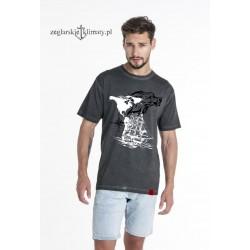 Koszulka męska vintage SEA WOLF