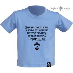 Koszulka dziecięca Zostań Piratem 1-8 lat