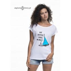 Koszulka damska RZUĆ WSZYSTKO