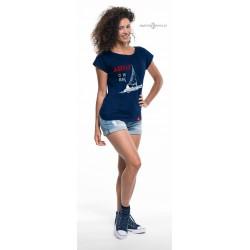 Koszulka damska prima AHOJ CI W RUFĘ