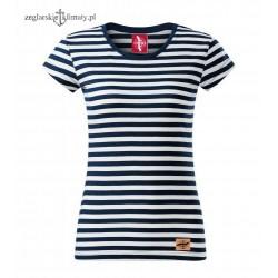 Koszulka damska w marynarskie paski :-)