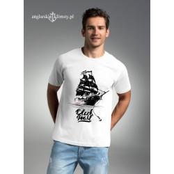 Koszulka męska Żeglarskie Klimaty - Czarna Perła