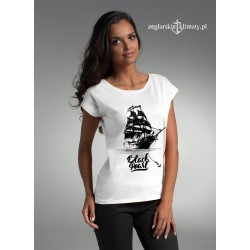 Koszulka damska Żeglarskie Klimaty - Czarna Perła
