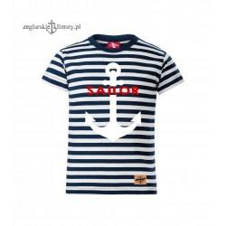 Koszulka dziecięca SAILOR w marynarskie paski :-)