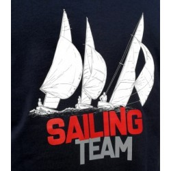 Koszulka męska premium SAILING TEAM (g)