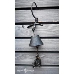 Dzwonek żeliwny żaglówka