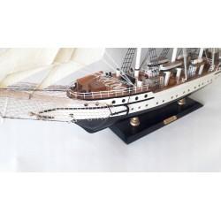 Duży model żaglowca DANMARK dł. 78cm