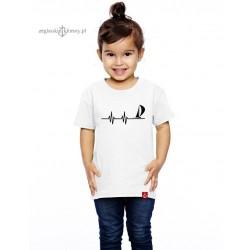 Koszulka dziecięca premium EKG