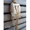 BLOCZEK drewniany - dekoracja - dł. 68cm