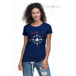 Koszulka damska premium strech PLAN na EMERYTURĘ