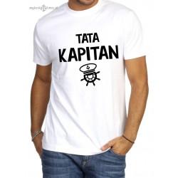 Koszulka męska premium TATA KAPITAN :-)