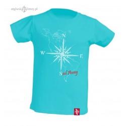 Koszulka dziecięca Róża Wiatrów 2-6 lat