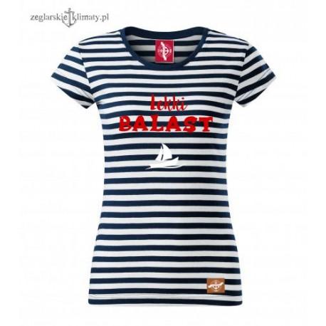 Koszulka damska w paski Lekki BALAST