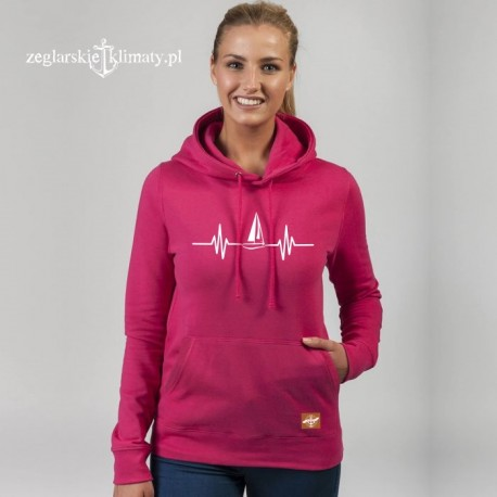 Bluza premium hot pink EKG