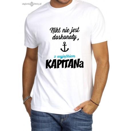 Koszulka męska premium Nikt nie jest doskonały