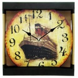 Zegar ścienny - statek