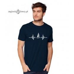 Koszulka męska granatowa EKG