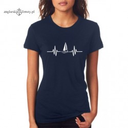 Koszulka damska granatowa EKG