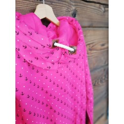 Bluza damska kotwiczki i jachty (różowa)