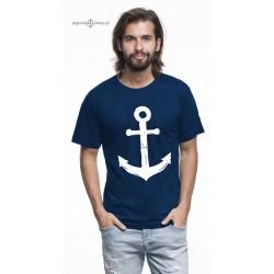 Koszulka męska premium strech KOTWICA