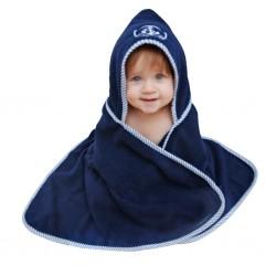 Ręcznik dziecięcy z kapturem KAPITAN :-)