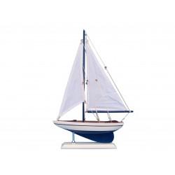 Mały model jachtu wys. 44cm!