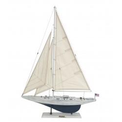 Duży model jachtu ENTERPRISE vintage - 90cm!