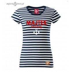 Koszulka damska w paski MAJTEK Pokladowy :-)