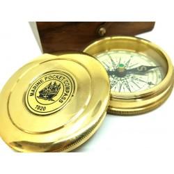Kompas marynistyczny w pudełku