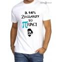 Koszulka męska premium Pi raci :-)