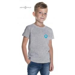 Koszulka dziecięca szara OPTIMIST