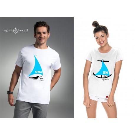Zestaw koszulek ONA i ON :-)