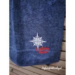 Ręcznik kąpielowy 70x140cm haft Sailing Moods