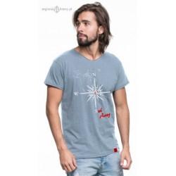 Koszulka męska SAIL AWAY (100% organic cotton)