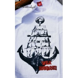 Koszulka męska WILK MORSKI (100% organic cotton)