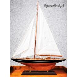 Model jachtu j-class rustykalny, wys. 87cm