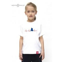 Koszulka dziecięca premium EKG Małych Żeglarzy :-)