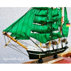Model żaglowca Alexander von Humboldt