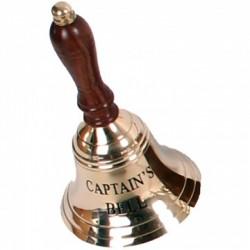 "Dzwonek CAPTAIN'S BELL - rączka 6,5"""