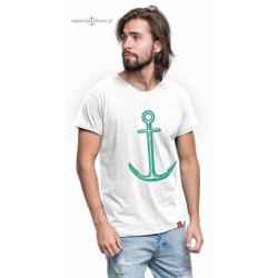 Koszulka męska KOTWICA (100% organic cotton)