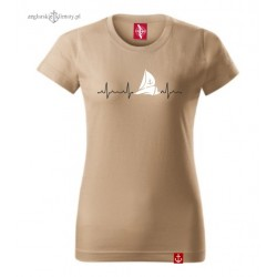 Koszulka damska kolor PULS Żeglarki w 3D :-)