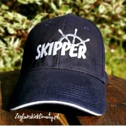Czapka z daszkiem granatowa SKIPPER