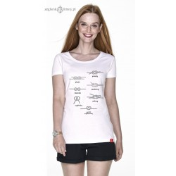 Koszulka damska premium Supełki 3D :-)
