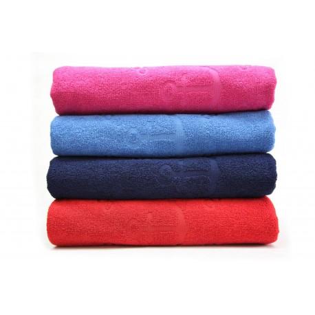 Duży ręcznik kąpielowy w kotwice (90x160cm)