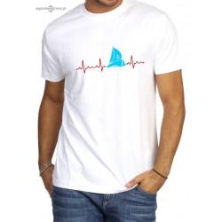 Koszulka męska premium PULS (3D :-)